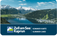 Zell am See summer card
