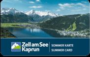 Zell am See Sommer Karte